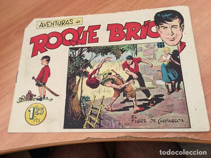 ROQUE BRIO Nº 6 (ORIGINAL MAGA) NUEVO PERO PICO CORTADO (COIB23) (Tebeos y Comics - Maga - Otros)