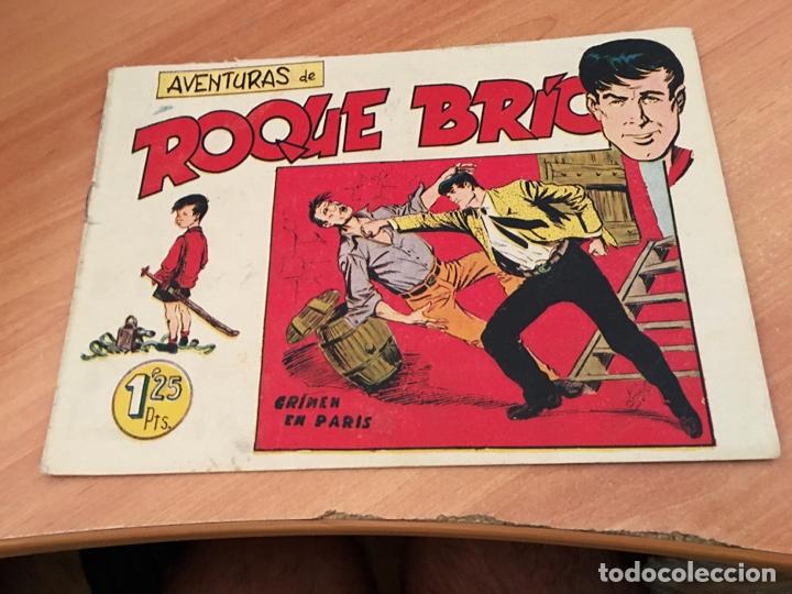 ROQUE BRIO Nº 4 (ORIGINAL MAGA) EXCELENTE (COIB23) (Tebeos y Comics - Maga - Otros)
