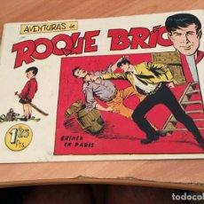 Tebeos: ROQUE BRIO Nº 4 (ORIGINAL MAGA) EXCELENTE (COIB23). Lote 173651037