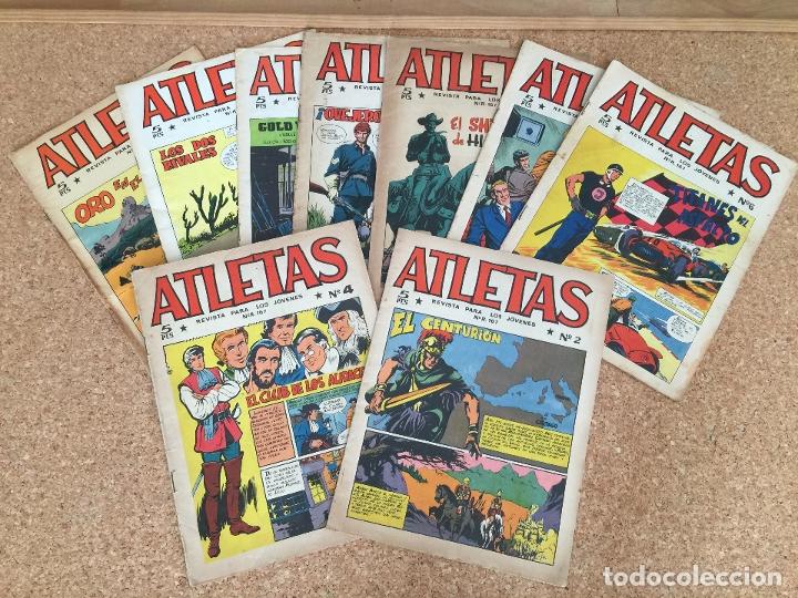 LOTE 9 NUMEROS ATLETAS (2,4,6,9,15,22,28,29,32- MAGA, ORIGINAL - GCH (Tebeos y Comics - Maga - Otros)