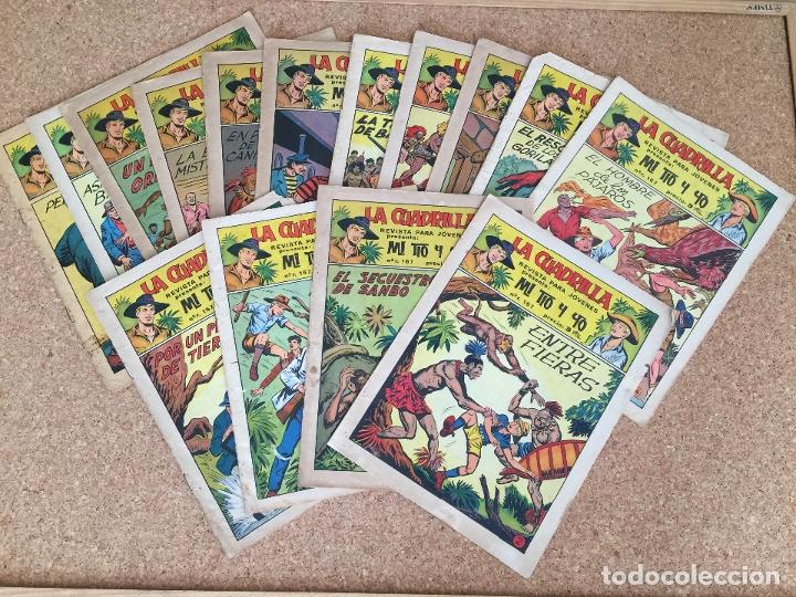 LOTE 16 LA CUADRILLA / MI TIO Y YO (ENTRE EL 2 Y EL 41) - MAGA, ORIGINAL - GCH (Tebeos y Comics - Maga - Otros)