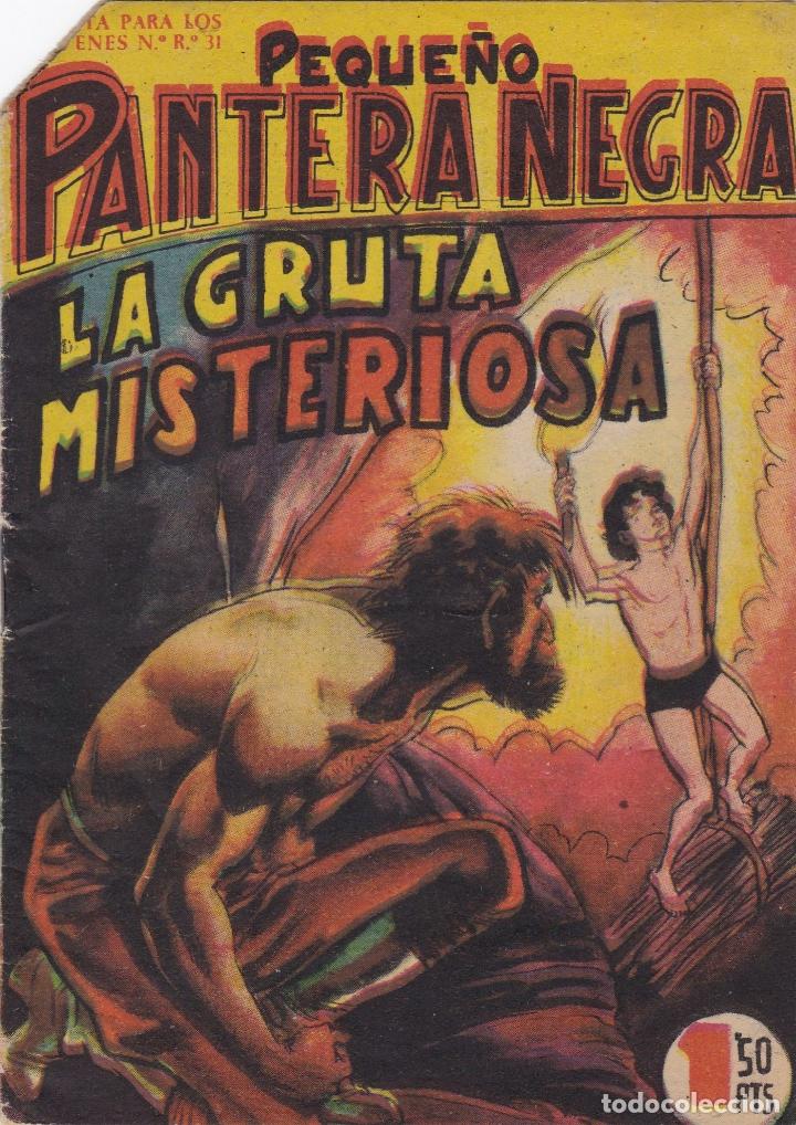 PEQUEÑO PANTERA NEGRA Nº 79 LA GRUTA MISTERIOSA EL DE LA FOTO VER FOTO ADICIONAL CONTRAPORTADA (Tebeos y Comics - Maga - Pantera Negra)