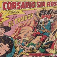 Tebeos: EL CORSARIO SIN ROSTRO Nº 3 SERIE DUQUE NEGRO EL DE LA FOTO VER FOTO ADICIONAL CONTRAPORTADA. Lote 173919603