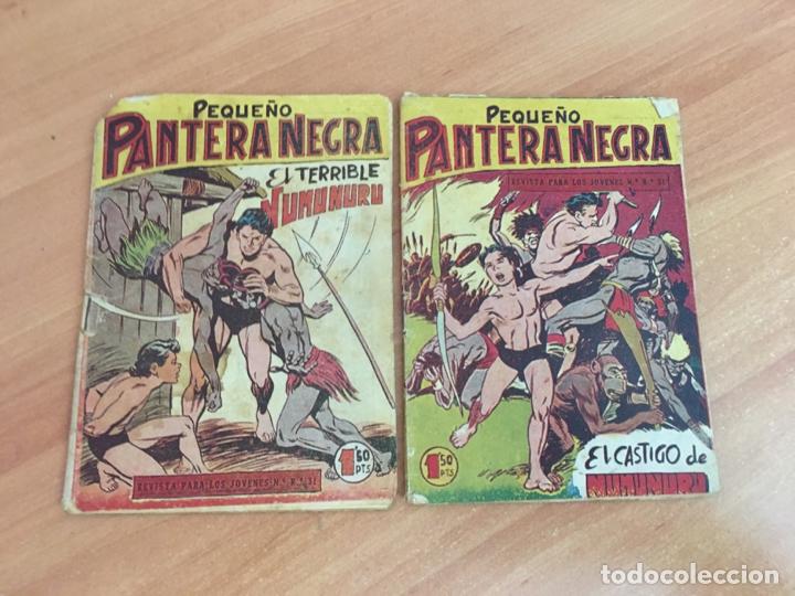 Tebeos: PEQUEÑO PANTERA NEGRA LOTE 27 EJEMPLARES (ORIGINAL MAGA) (COIB26) - Foto 4 - 173923505