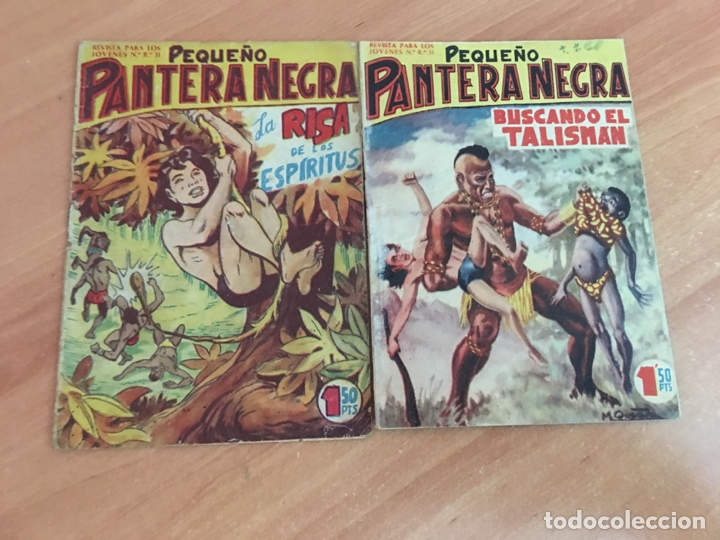 Tebeos: PEQUEÑO PANTERA NEGRA LOTE 27 EJEMPLARES (ORIGINAL MAGA) (COIB26) - Foto 6 - 173923505