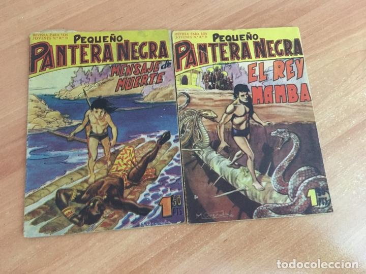 Tebeos: PEQUEÑO PANTERA NEGRA LOTE 27 EJEMPLARES (ORIGINAL MAGA) (COIB26) - Foto 8 - 173923505