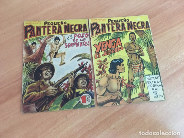Tebeos: PEQUEÑO PANTERA NEGRA LOTE 27 EJEMPLARES (ORIGINAL MAGA) (COIB26) - Foto 9 - 173923505