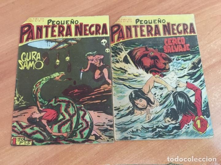Tebeos: PEQUEÑO PANTERA NEGRA LOTE 15 EJEMPLARES (ORIGINAL MAGA) (COIB26) - Foto 3 - 173923865