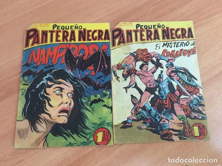 Tebeos: PEQUEÑO PANTERA NEGRA LOTE 15 EJEMPLARES (ORIGINAL MAGA) (COIB26) - Foto 4 - 173923865