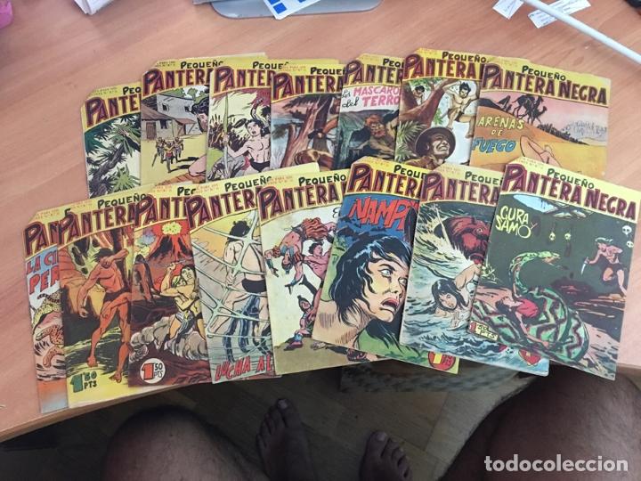 PEQUEÑO PANTERA NEGRA LOTE 15 EJEMPLARES (ORIGINAL MAGA) (COIB26) (Tebeos y Comics - Maga - Pantera Negra)