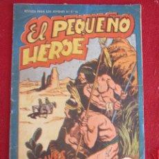 Tebeos: EL PEQUEÑO HEROE. A TRAVES DEL DESIERTO. Nº 114. 1958. Lote 174023095