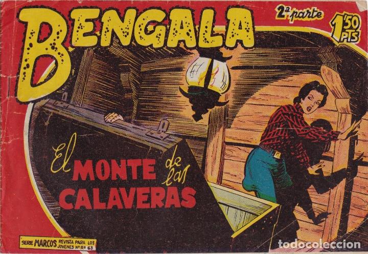 BENGALA 2ª PARTE Nº 14 EL MONTE DE LAS CALAVERAS EL DE LA FOTO VER FOTO ADICIONAL CONTRAPORTADA (Tebeos y Comics - Maga - Bengala)