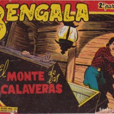 Tebeos: BENGALA 2ª PARTE Nº 14 EL MONTE DE LAS CALAVERAS EL DE LA FOTO VER FOTO ADICIONAL CONTRAPORTADA. Lote 174055388