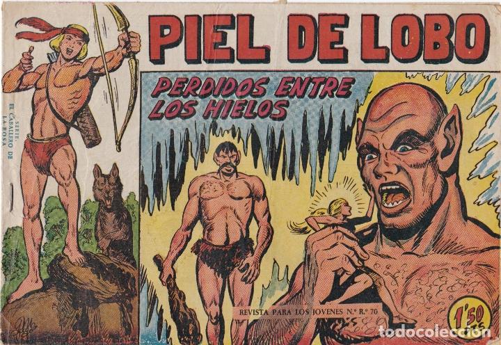 PIEL DE LOBO Nº 17 PERDIDO ENTRE LOS HIELOS EL DE LA FOTO VER FOTO ADICIONAL CONTRAPORTADA (Tebeos y Comics - Maga - Piel de Lobo)
