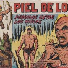 Tebeos: PIEL DE LOBO Nº 17 PERDIDO ENTRE LOS HIELOS EL DE LA FOTO VER FOTO ADICIONAL CONTRAPORTADA. Lote 174078044