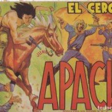 Tebeos: APACHE Nº 10 EL CERCO EL DE LA FOTO VER FOTO ADICIONAL CONTRAPORTADA. Lote 174081494