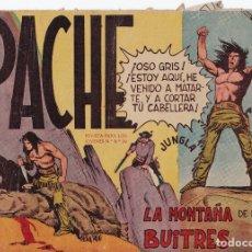 Tebeos: APACHE Nº 16 LA MONTAÑA DE LOS BUITRES EL DE LA FOTO VER FOTO ADICIONAL CONTRAPORTADA. Lote 174082244