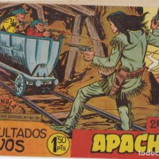 Tebeos: APACHE 2ª PARTE Nº 2 SEPULTADOS VIVOS EL DE LA FOTO VER FOTO ADICIONAL CONTRAPORTADA. Lote 174082377