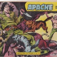 Tebeos: APACHE 2ª PARTE Nº 7 EL VIEJO Y LOS COYOTES DE LA FOTO VER FOTO ADICIONAL CONTRAPORTADA. Lote 174082592