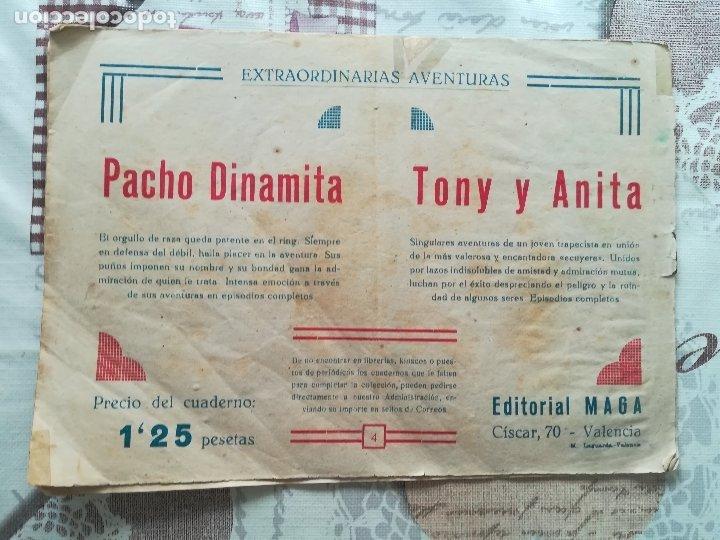 Tebeos: PACHO DINAMITA Nº 4,ANTIGUO - Foto 3 - 174087584