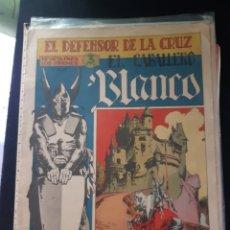 Tebeos: TEBEOS-CÓMICS CANDY - EL CABALLERO BLANCO 1 - MAGA 1964 - RARÍSIMO- AA98. Lote 174237002