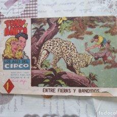 Tebeos: TONY Y ANITA Nº 21. Lote 174590599