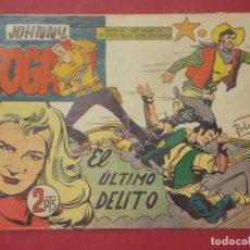 Tebeos: JOHNNY FOGATA Nº 57 - SERIE METEORO - EDITORIAL MAGA 1960 - 15 X 21 CM... L296. Lote 175022097