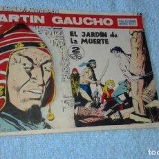 Tebeos: MARTIN GAUCHO EL JARDIN DE LA MUERTE Nº 28 EXCELENTE ESTADO SIN CORTAR. Lote 175071512