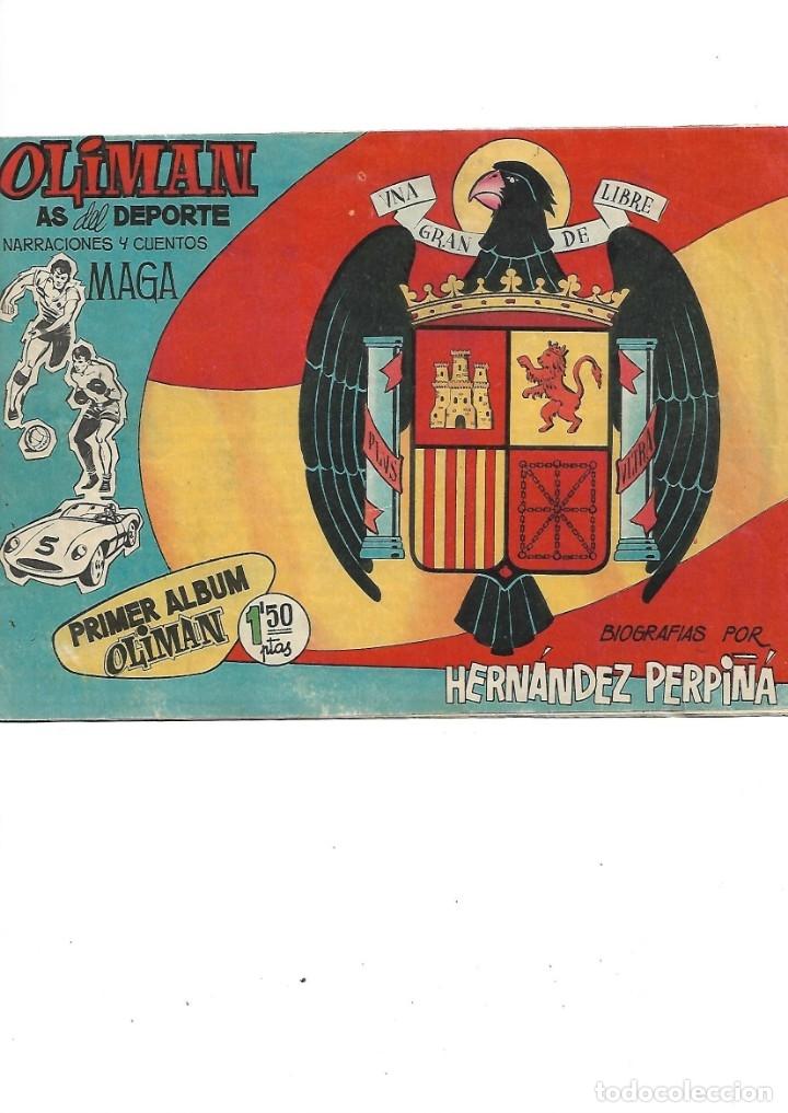 OLIMAN AS DEL DEPORTE COLECCIÓN COMPLETA SON 105 TEBEOS + ALMANAQUE DE CROMOS DE LA SELECIÓN DE 1964 (Tebeos y Comics - Maga - Oliman)