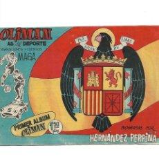 Tebeos: OLIMAN AS DEL DEPORTE AÑO 1961 COLECCIÓN COMPLETA SON 105 TEBEOS + ALMANAQUE DE CROMOS DE FÚTBOLIST . Lote 175199449