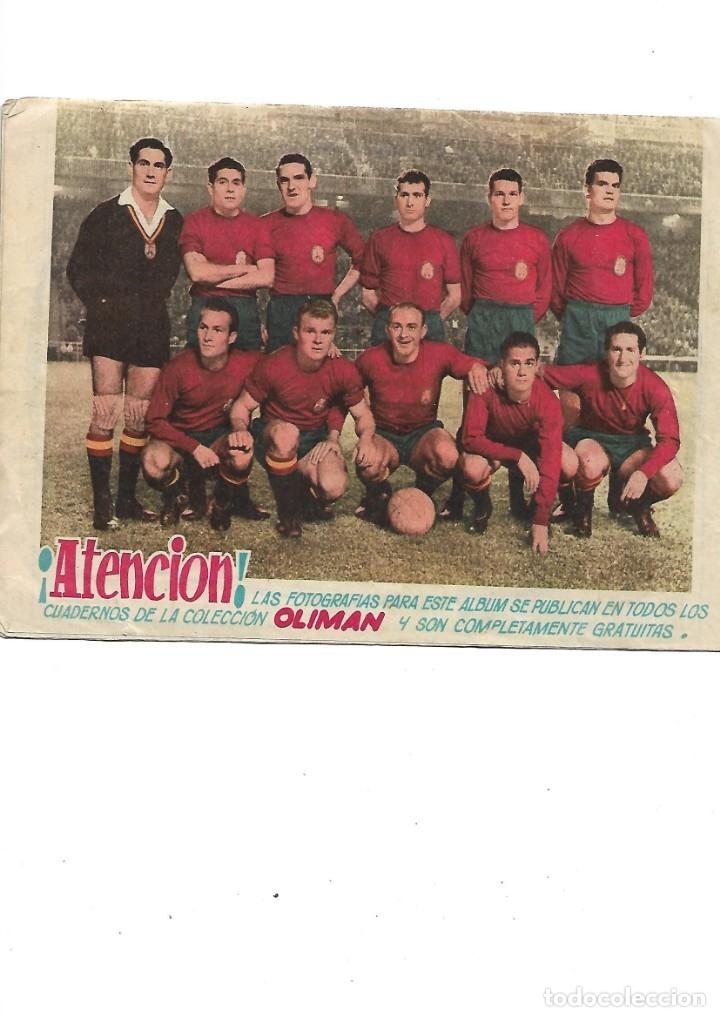 Tebeos: Oliman As del Deporte Colección Completa son 105 tebeos + Almanaque de cromos de la seleción de 1964 - Foto 2 - 175199449