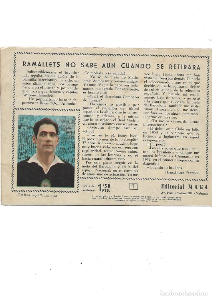 Tebeos: Oliman As del Deporte Colección Completa son 105 tebeos + Almanaque de cromos de la seleción de 1964 - Foto 6 - 175199449