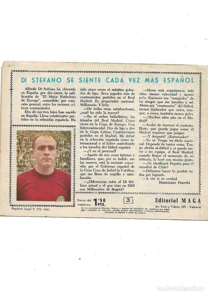 Tebeos: Oliman As del Deporte Colección Completa son 105 tebeos + Almanaque de cromos de la seleción de 1964 - Foto 10 - 175199449