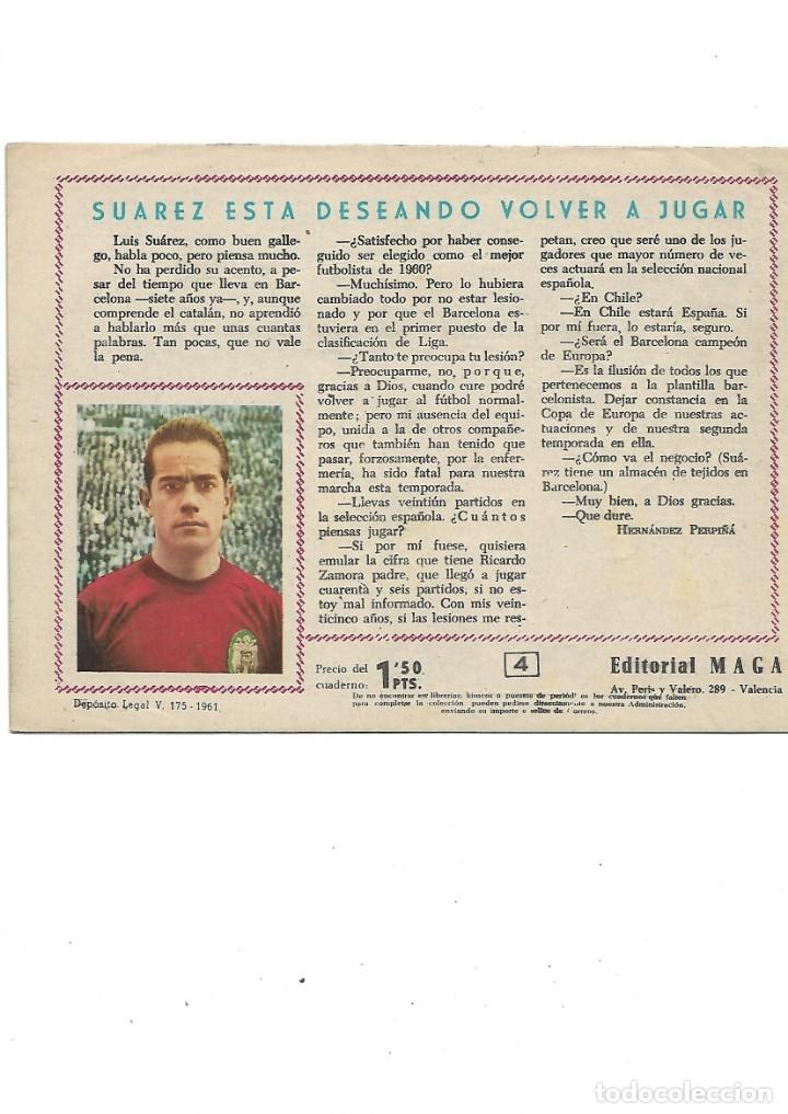 Tebeos: Oliman As del Deporte Colección Completa son 105 tebeos + Almanaque de cromos de la seleción de 1964 - Foto 12 - 175199449