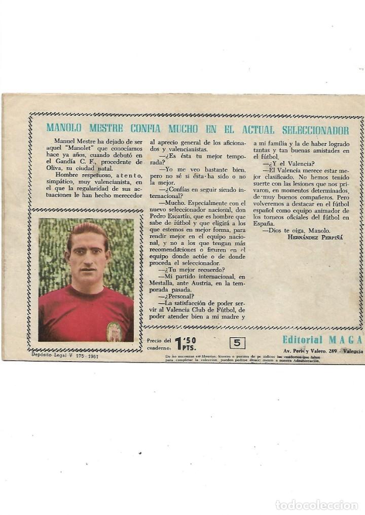 Tebeos: Oliman As del Deporte Colección Completa son 105 tebeos + Almanaque de cromos de la seleción de 1964 - Foto 14 - 175199449