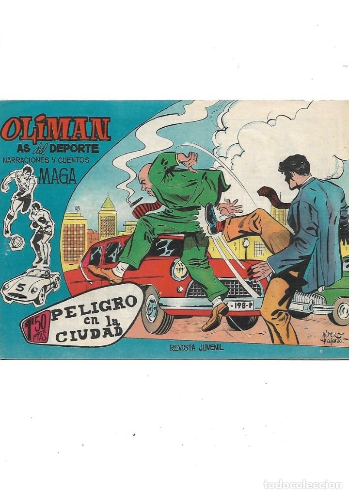 Tebeos: Oliman As del Deporte Colección Completa son 105 tebeos + Almanaque de cromos de la seleción de 1964 - Foto 15 - 175199449