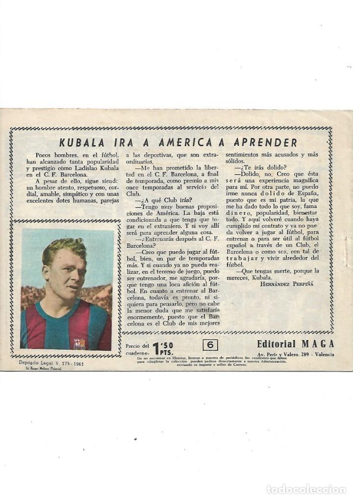 Tebeos: Oliman As del Deporte Colección Completa son 105 tebeos + Almanaque de cromos de la seleción de 1964 - Foto 16 - 175199449