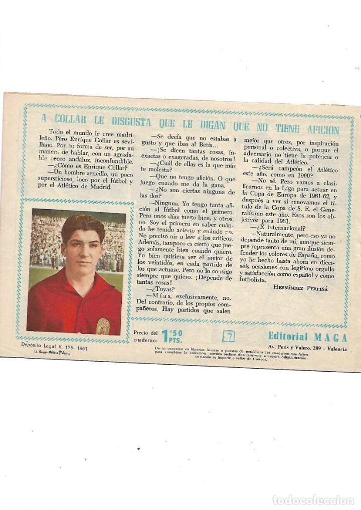 Tebeos: Oliman As del Deporte Colección Completa son 105 tebeos + Almanaque de cromos de la seleción de 1964 - Foto 18 - 175199449