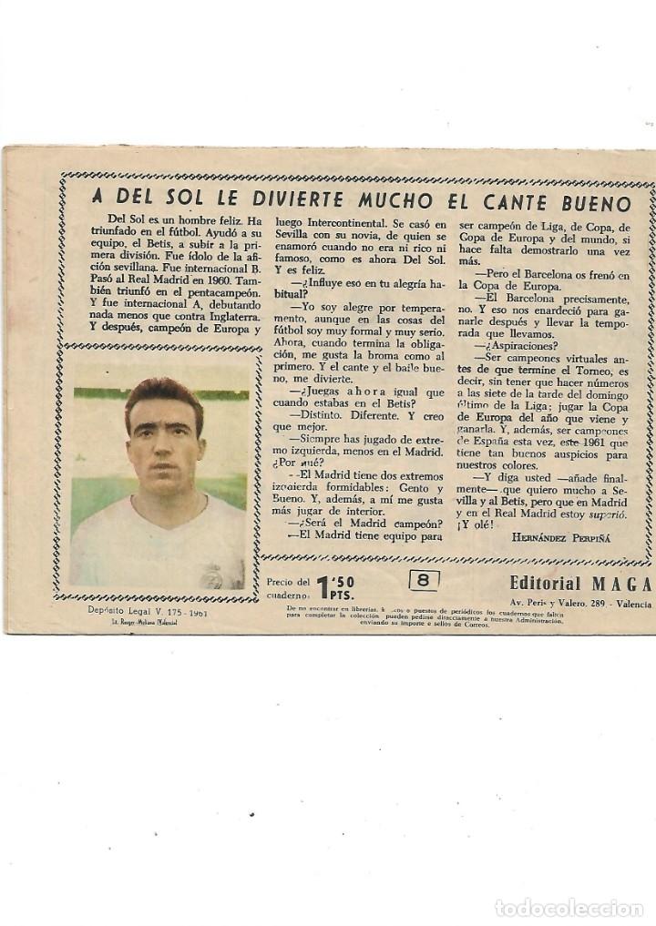 Tebeos: Oliman As del Deporte Colección Completa son 105 tebeos + Almanaque de cromos de la seleción de 1964 - Foto 20 - 175199449