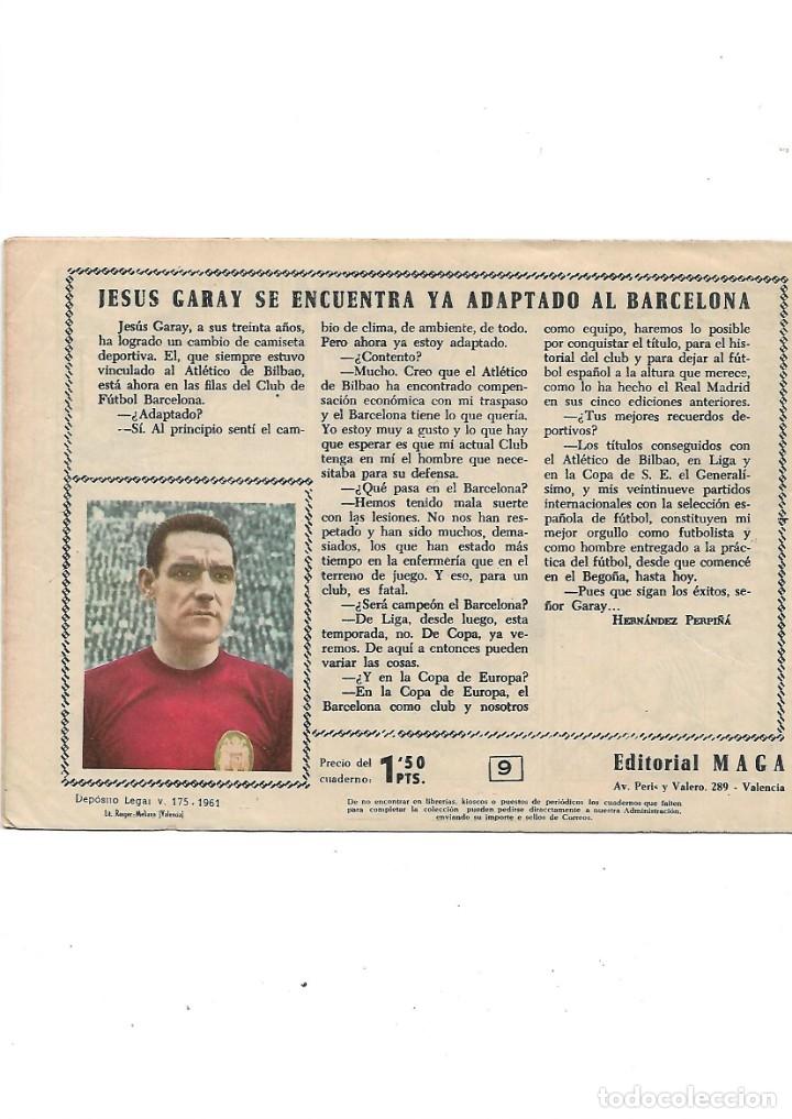 Tebeos: Oliman As del Deporte Colección Completa son 105 tebeos + Almanaque de cromos de la seleción de 1964 - Foto 22 - 175199449
