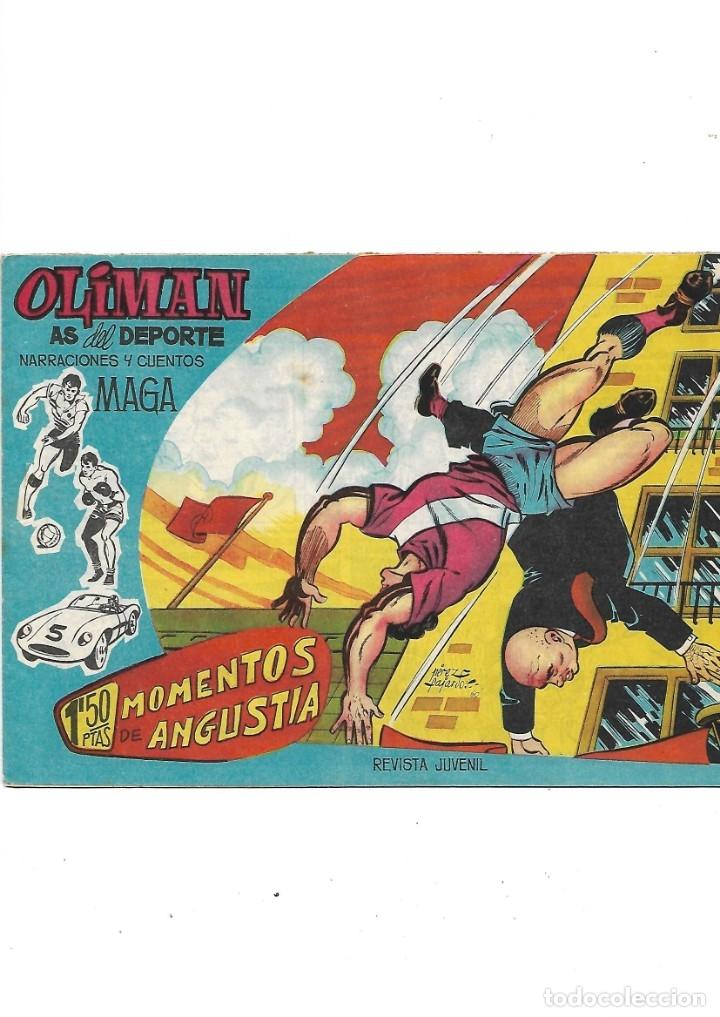 Tebeos: Oliman As del Deporte Colección Completa son 105 tebeos + Almanaque de cromos de la seleción de 1964 - Foto 25 - 175199449