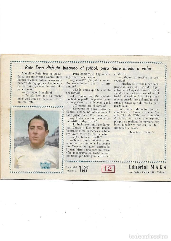 Tebeos: Oliman As del Deporte Colección Completa son 105 tebeos + Almanaque de cromos de la seleción de 1964 - Foto 28 - 175199449