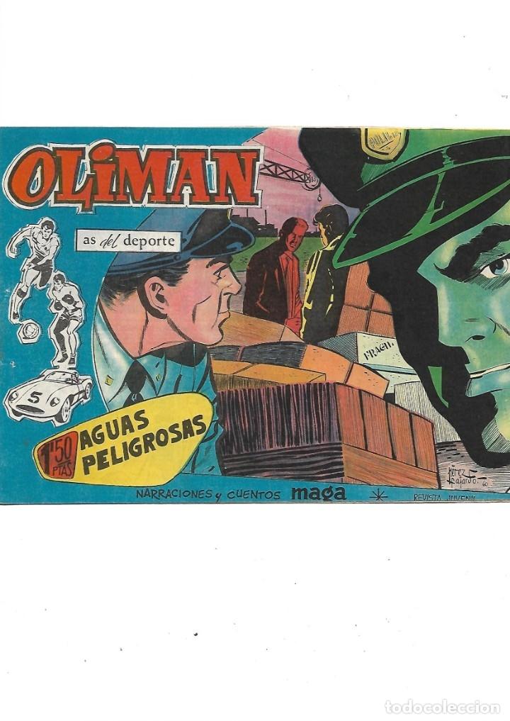Tebeos: Oliman As del Deporte Colección Completa son 105 tebeos + Almanaque de cromos de la seleción de 1964 - Foto 29 - 175199449
