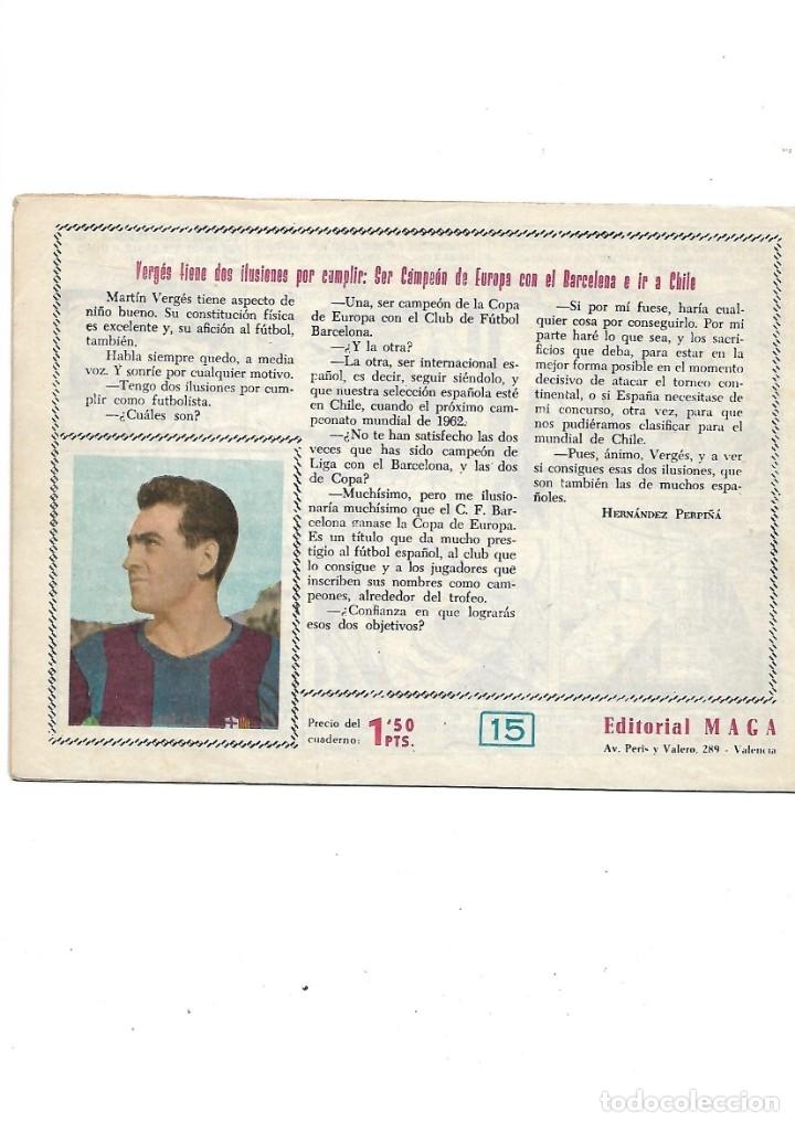 Tebeos: Oliman As del Deporte Colección Completa son 105 tebeos + Almanaque de cromos de la seleción de 1964 - Foto 34 - 175199449