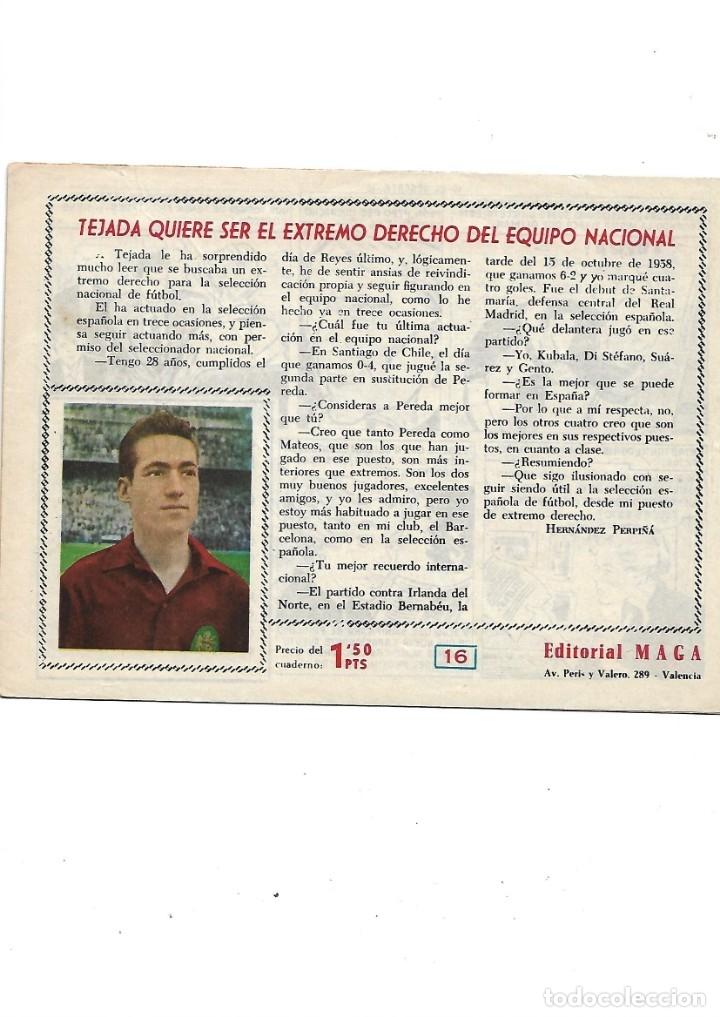 Tebeos: Oliman As del Deporte Colección Completa son 105 tebeos + Almanaque de cromos de la seleción de 1964 - Foto 36 - 175199449