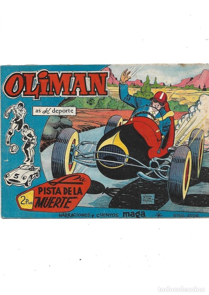 Tebeos: Oliman As del Deporte Colección Completa son 105 tebeos + Almanaque de cromos de la seleción de 1964 - Foto 45 - 175199449