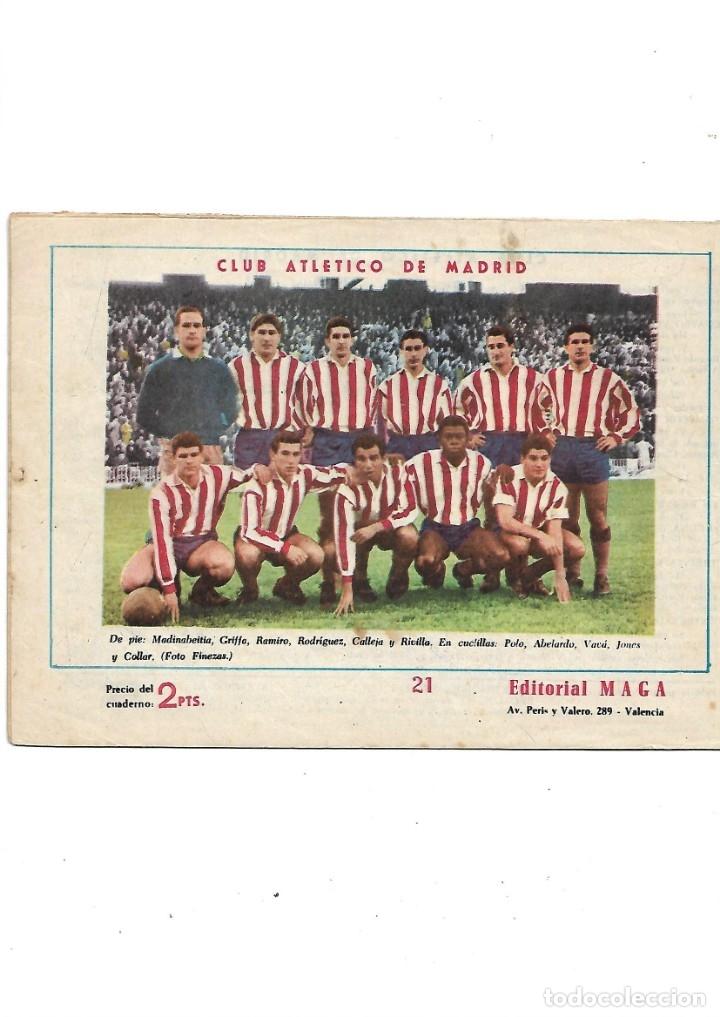 Tebeos: Oliman As del Deporte Colección Completa son 105 tebeos + Almanaque de cromos de la seleción de 1964 - Foto 46 - 175199449