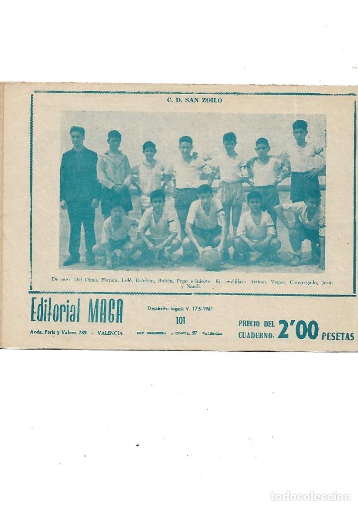 Tebeos: Oliman As del Deporte Colección Completa son 105 tebeos + Almanaque de cromos de la seleción de 1964 - Foto 50 - 175199449