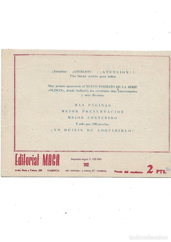 Tebeos: Oliman As del Deporte Colección Completa son 105 tebeos + Almanaque de cromos de la seleción de 1964 - Foto 52 - 175199449