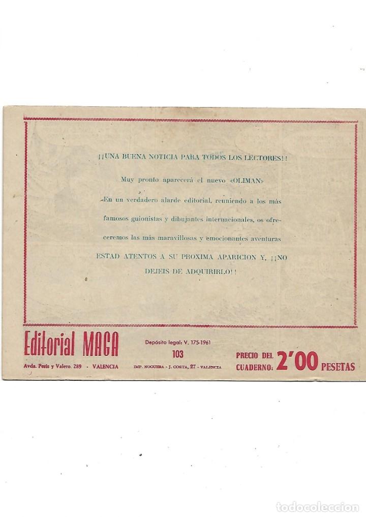 Tebeos: Oliman As del Deporte Colección Completa son 105 tebeos + Almanaque de cromos de la seleción de 1964 - Foto 54 - 175199449